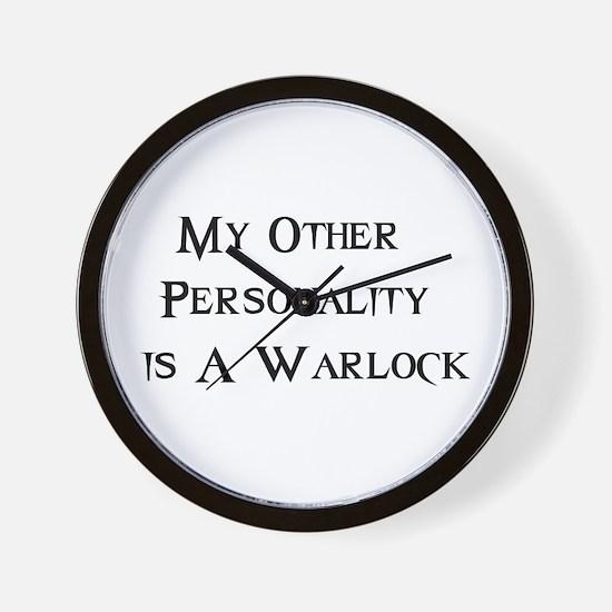 Warlock Wall Clock