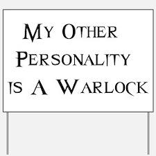 Warlock Yard Sign