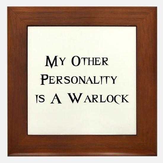 Warlock Framed Tile