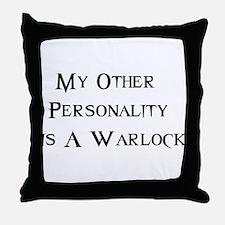 Warlock Throw Pillow