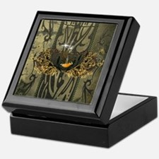 Wonderful songbird Keepsake Box