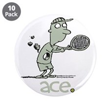"Groundies - Ace 3.5"" Button (10 pack)"