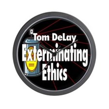 DeLay, Exterminator Wall Clock