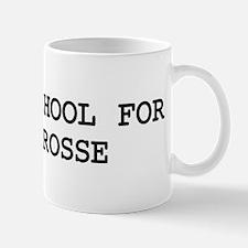 Skip school for POLOCROSSE Mug