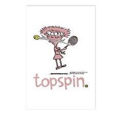 Groundies - Topspin Postcards (Package of 8)