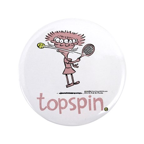 """Groundies - Topspin 3.5"""" Button"""
