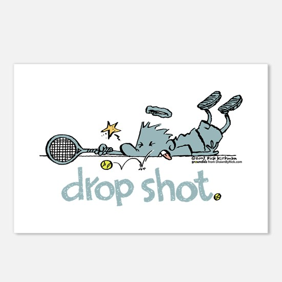 Groundies - Drop Shot Postcards (Package of 8)