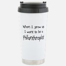 Cute Bill gates Travel Mug