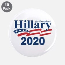 """Hillary 2020 3.5"""" Button (10 pack)"""