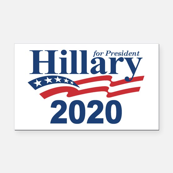 Hillary 2020 Rectangle Car Magnet