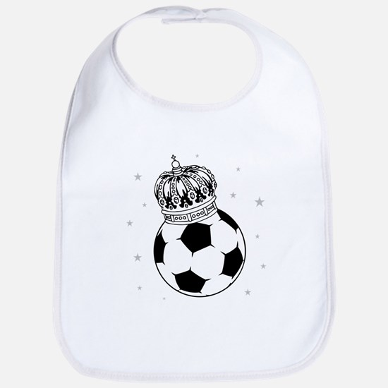 Soccer Royalty Bib