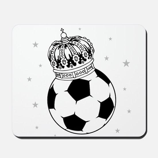 Soccer Royalty Mousepad