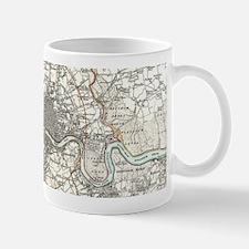 Vintage Map of London England (1832) Mugs