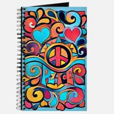 Colorful Hippie Art Journal