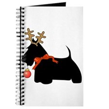 Scottie Dog Reindeer Journal