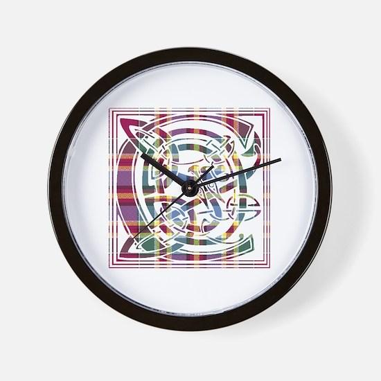 Monogram - Chattan Wall Clock