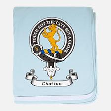 Badge - Chattan baby blanket