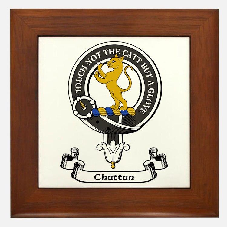 Badge - Chattan Framed Tile