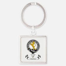 Badge - Chattan Square Keychain
