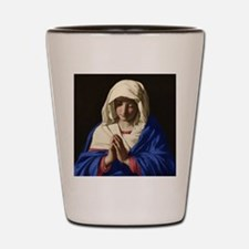 Virgin Mary Shot Glass