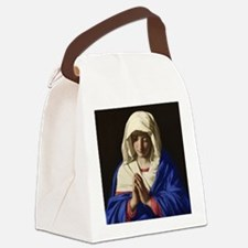 Virgin Mary Canvas Lunch Bag