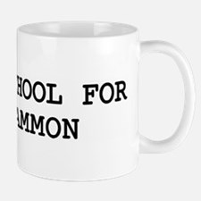 Skip school for BACKGAMMON Mug