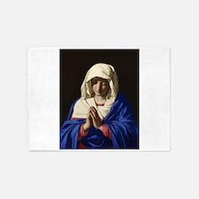 Virgin Mary 5'x7'Area Rug
