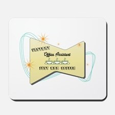 Instant Office Assistant Mousepad