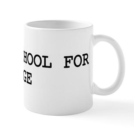 Skip school for LUGE Mug