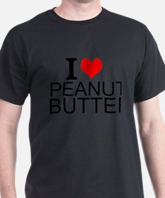 I Love Peanut Butter T-Shirt