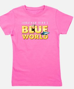 Cute Blue Girl's Tee