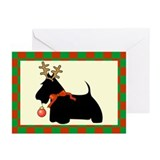 Scottish terrier Greeting Cards (10 Pack)