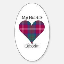 Heart-Chisholm hunting Decal
