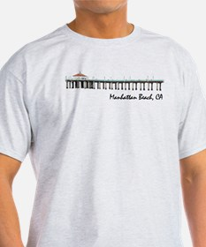 Manhattan Beach (white) T-Shirt