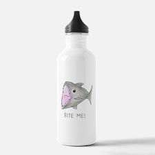 Funny Shark Bite Me Water Bottle