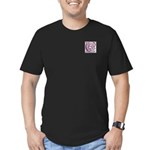 Monogram - Chisholm Men's Fitted T-Shirt (dark)
