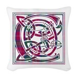 Monogram - Chisholm Woven Throw Pillow