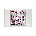 Monogram - Chisholm Rectangle Magnet (100 pack)