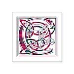 Monogram - Chisholm Square Sticker 3