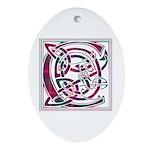 Monogram - Chisholm Ornament (Oval)