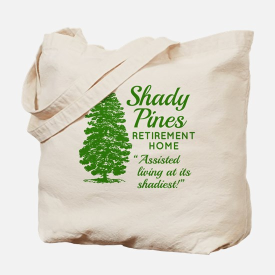 SHADY PINES Golden Girls Tote Bag