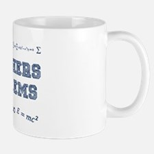 Math Teachers Have Problems Mugs