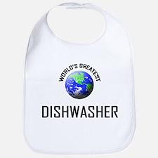 World's Greatest DISHWASHER Bib