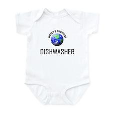 World's Greatest DISHWASHER Infant Bodysuit