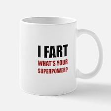 Fart Super Power Mugs