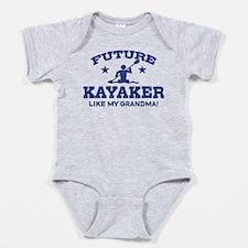 Cute Kayaker Baby Bodysuit