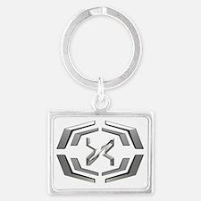 Cute Xen Landscape Keychain