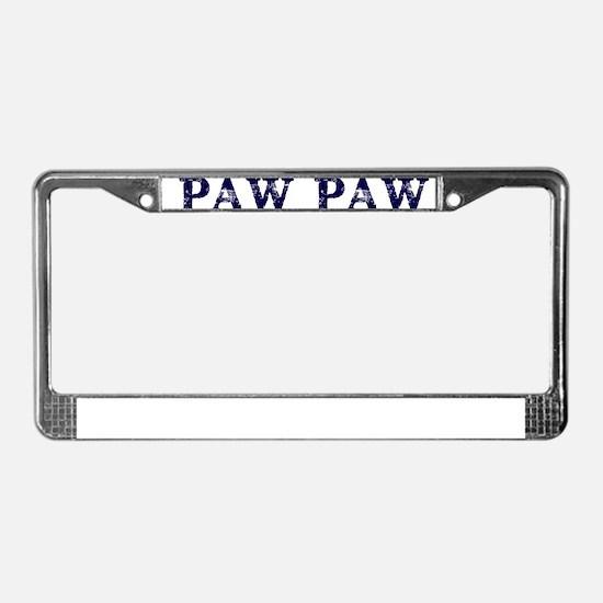 PAW PAW THE MAN MYTH LEGEND License Plate Frame