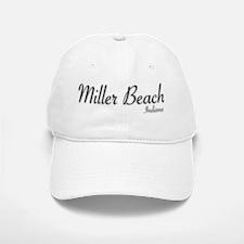 Miller Beach Logo Baseball Baseball Cap