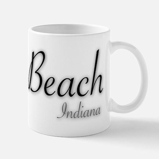 Miller Beach Logo Mug